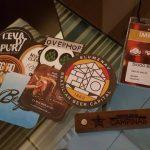 Mimos e algumas das lembranças do Festival Brasileiro da Cerveja 2017